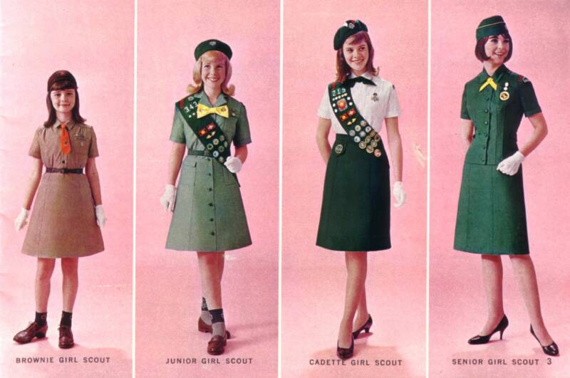 Girl Scout Uniforms History Activities